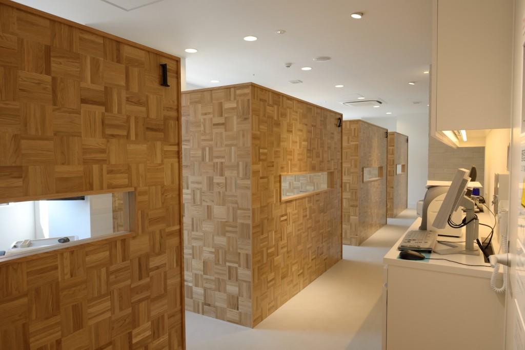 かわさきデンタルクリニックの診療室